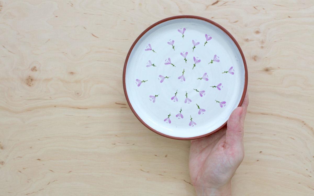 krokus dezertní talíř